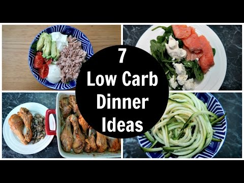 7 Low Carb Dinner Ideas - A Week Of Easy Keto Diet Dinner Recipes