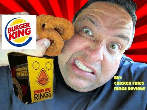 BURGER KING® Chicken Fries Rings REVIEW!