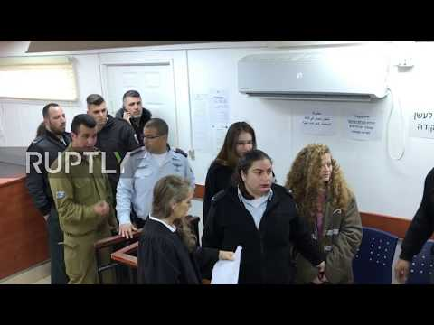 State of Palestine: Media ejected as viral slap video teen goes on trial at military court