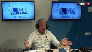 "Вице-мэр Риги Андрис Америкс в программе ""Голос Америкса"" 18.06.2018 #MIXTV"