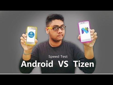 Nokia 3 And Samsung Z2 Speed Test 2017