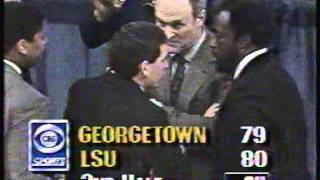 L.S.U vs. Georgetown 1989