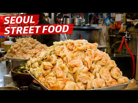 A Korean Street Food Crawl at the Legendary Gwangjang Market  — K-Town