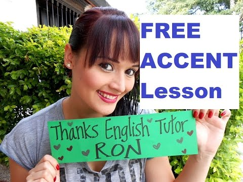 Learn American Accent Training Online FREE Tutor Pronunciation Lessons PDF Video