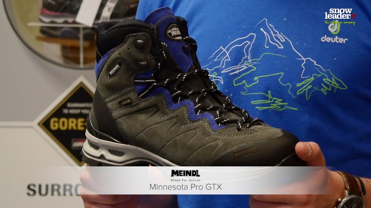 Meindl   Minnesota Pro GTX - YouTube 017b94cb5eb