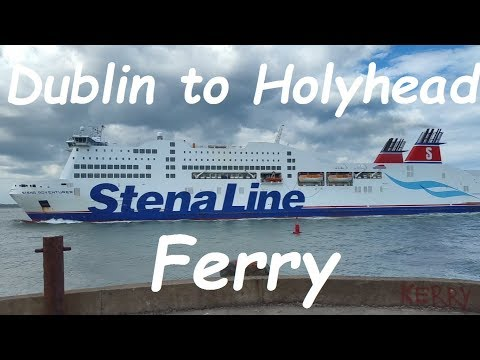 Dublin to Holyhead ferry trip on MS Stena Adventuer