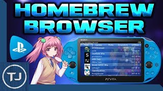 PS Vita Homebrew Browser! (Version 0.83 Fixed!)
