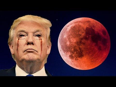 Как появляется красная луна