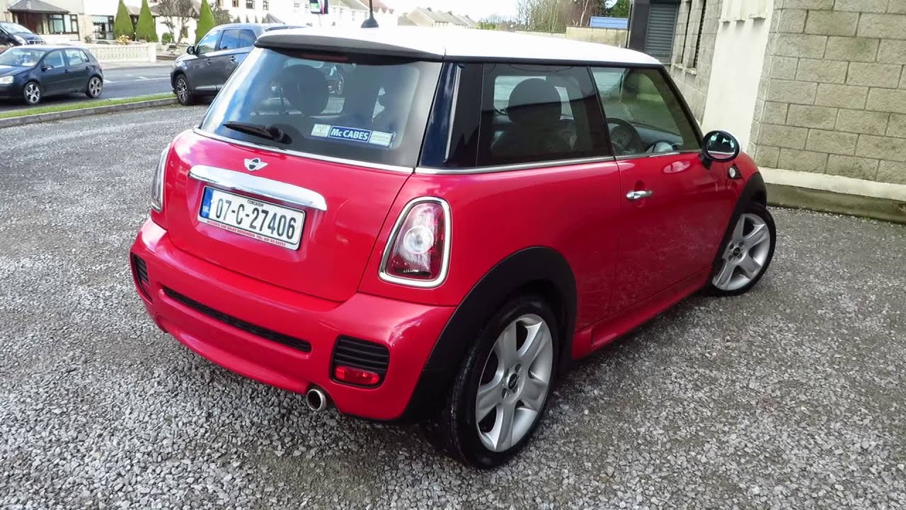 2007 Mini Cooper D John Cooper Works 16 Diesel Youtube