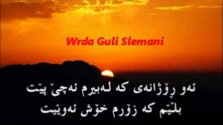 Moein-Hamdam-Zher Nusi Kurdi