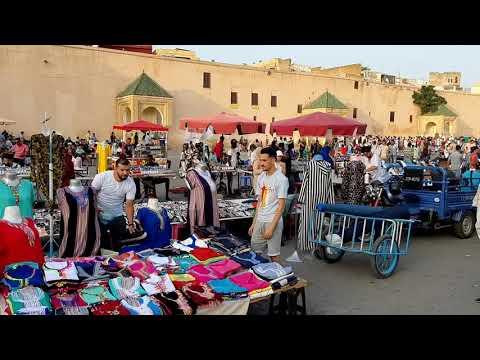 "فضيحة الهديم "" هدية لعشاق مكناس المغرب "" vraiment c'est très sympa Meknès mais décevant parfois no ?"