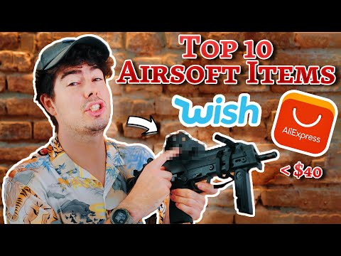 The BEST Airsoft Items From AliExpress & Wish (My Top 10)