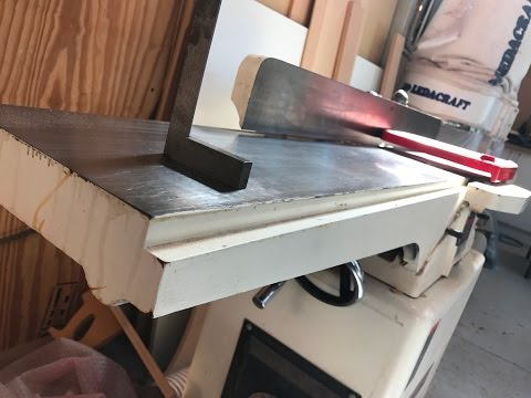 Woodworking, Cracka Of A Tip #2 Jointer Machining Trick