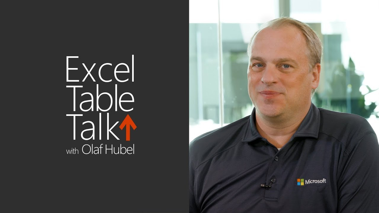 Excel Table Talk - Episode 2