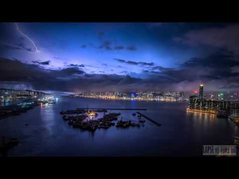 Hong Kong Storm over Kowloon Bay