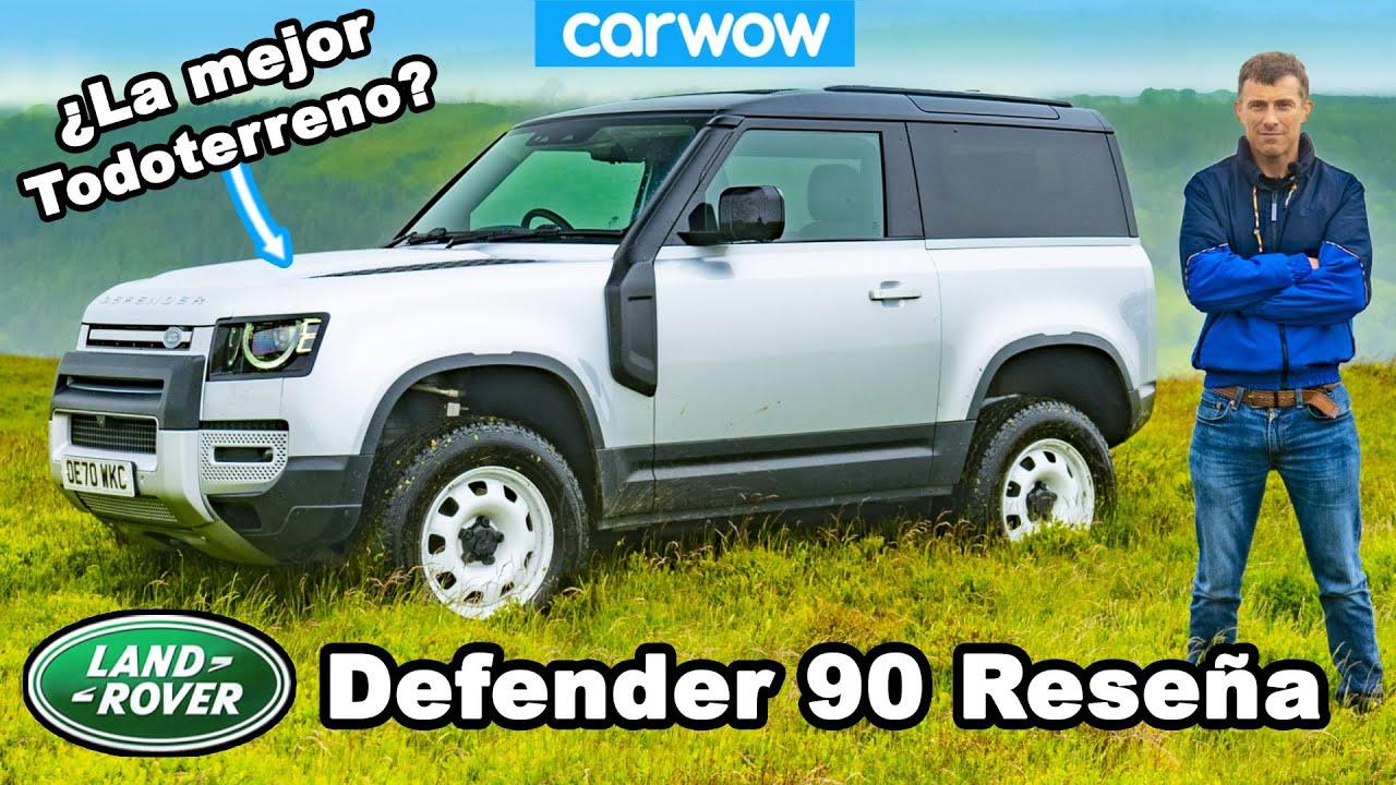 Land Rover Defender 90 reseña a fondo - off-road, en calle ¡y lanzada a 100km/h!