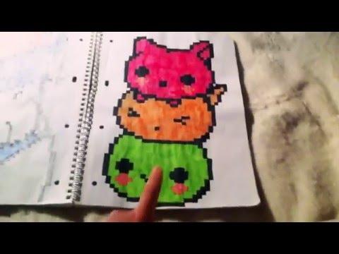 Мои рисунки по клеточкам