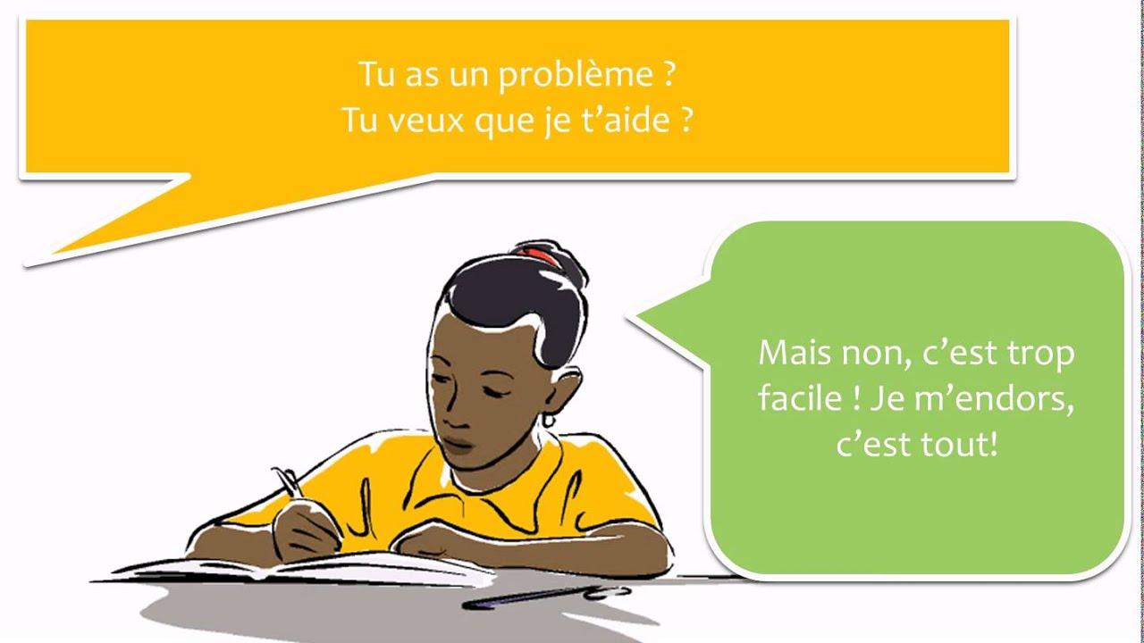 Lær fransk med dialoger # 20