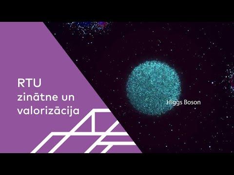 Iepazīsties - Higsa bozons!