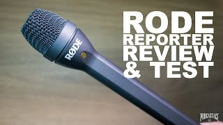 Rode Reporter Omnidirectional Dynamic Mic Review / Test