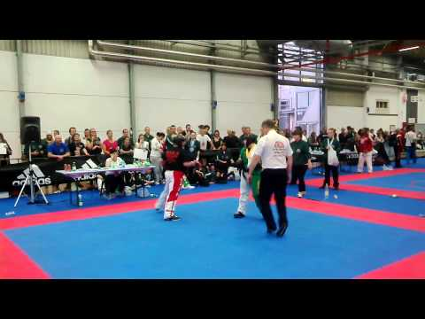 Lucy Shaw Finals At The WTKA World Championships 2013