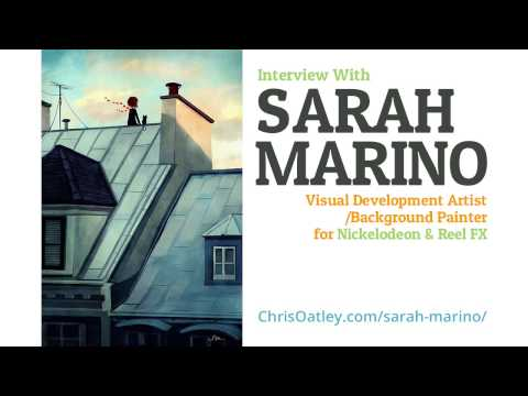 Interview With Sarah Marino: Visual Development Artist for Nickelodeon (Part 1) :: ArtCast #76