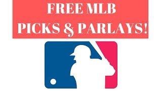 Friday Night 7/26/2019 Underdog MLB Picks & Parlays and MLB Predictions MLB FREE Picks!