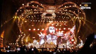 Kiss - Creatures Of The Night (Hell And Heaven 2014 Mexico )
