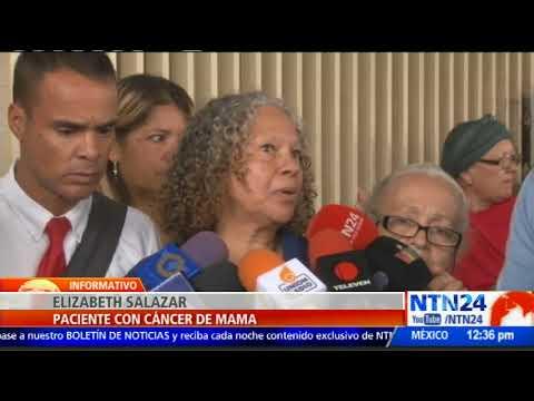 Pacientes con cáncer claman por ayuda ante crisis humanitaria en Venezuela