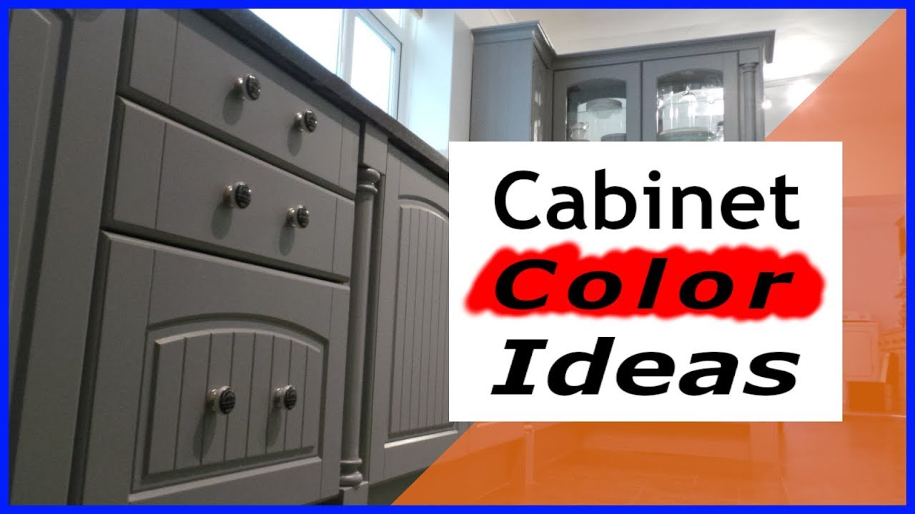 Painting Kitchen Cabinets Color Ideas White Green Cream Black Grey Youtube