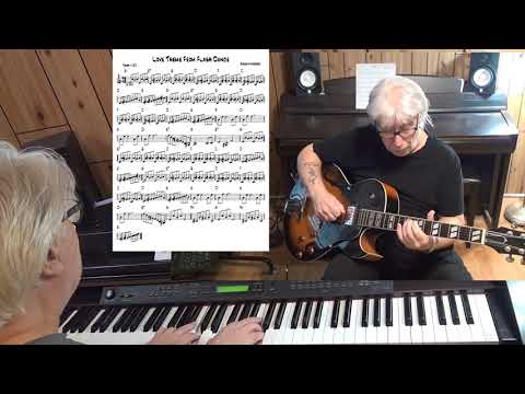 Love Theme From Flash Dance - pop guitar & piano cover ( Giorguo Moroder )
