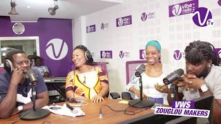 VIBE WEEK-END SHOW ZOUGLOU MAKERS : INTERVIEW QUESTIONS DIRECTES