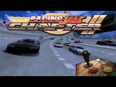Racing Jam Chapter II - Arcade Gameplay on Real Hardware