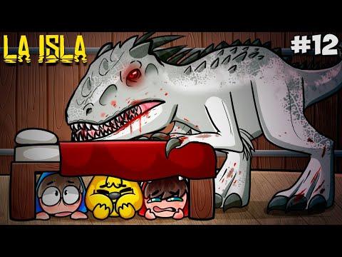 HAY un INDOMINUS REX en La ISLA!!! 😰 LA ISLA #12 🌴🦖 [Serie ARK Roleplay c/ Mike, Raptor y Sparta] - Mikecrack