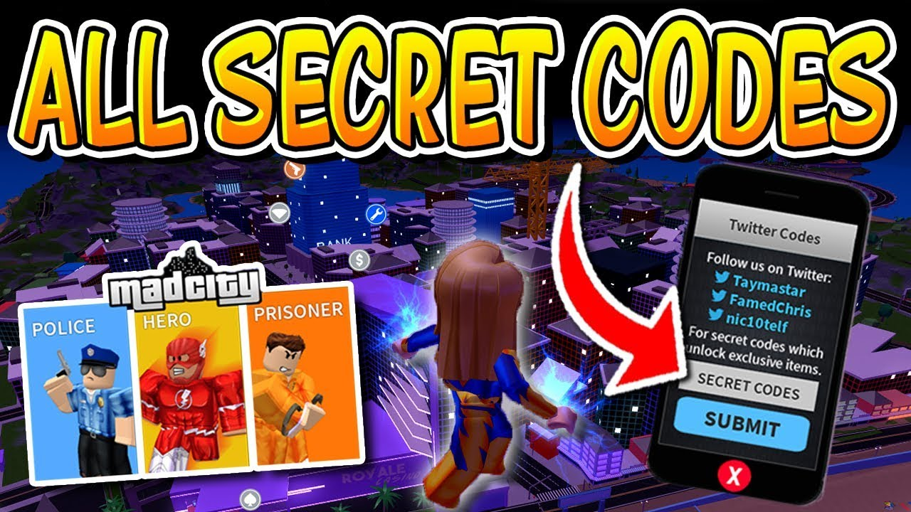 ALL CODES IN ROBLOX MAD CITY!!! (Roblox)