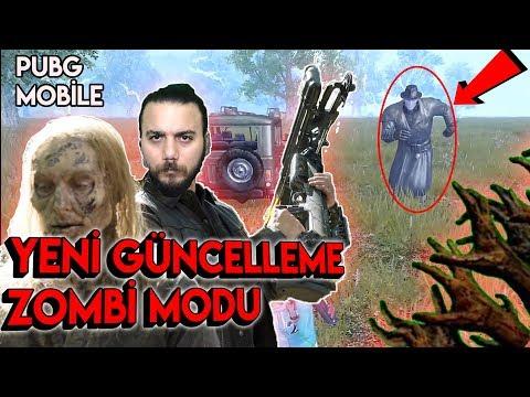 YENİ GÜNCELLEME ve ZOMBİ MODU - PUBG Mobile (YENİ SİLAHLAR EFSANE!)