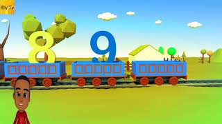 Learn the numbers 1 to 10 – Number train