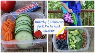 Healthy & Delicious Back to School Lunch Ideas Thumbnail