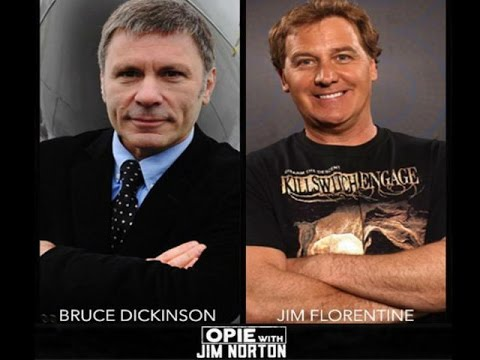 Opie & Jim Norton - Jim Florentine, Bruce Dickinson, Brian Harman (08-31-2015)