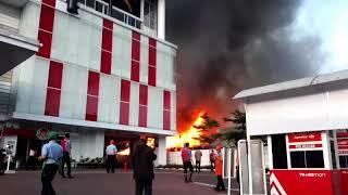Kebakaran di transmart