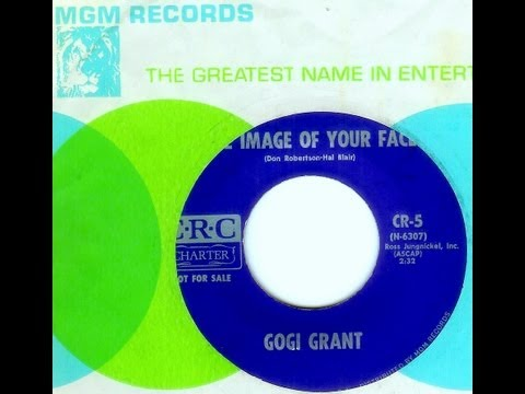 Gogi Grant - THE IMAGE OF YOUR FACE  (1964)