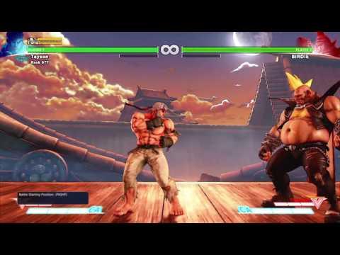 SFV - Ryu tech: Optimal punish vs ex bullhorn