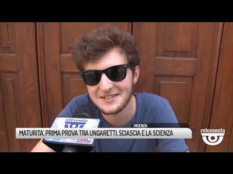 TG VICENZA (19/06/2019) - MATURITA', PRIMA PROVA T...