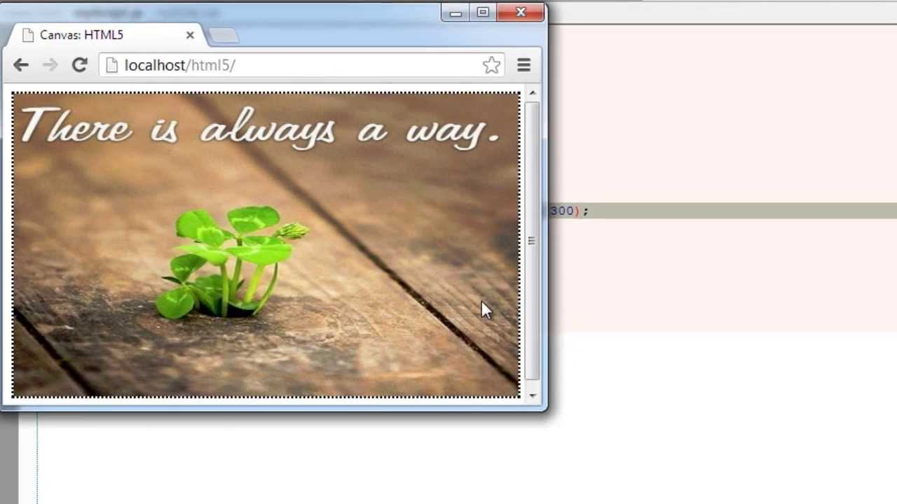 drawImage() Method in Canvas: HTML5