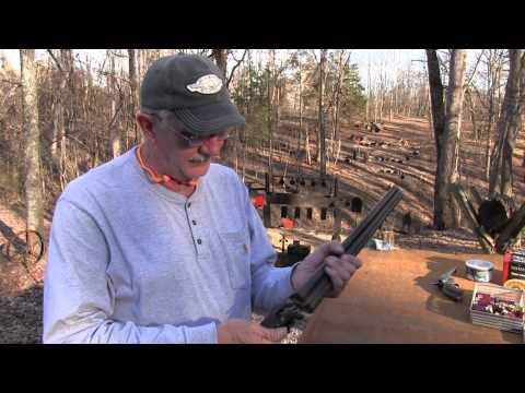 Ithaca Classic Double Barrel 12 Gauge Coach Gun - YouTube
