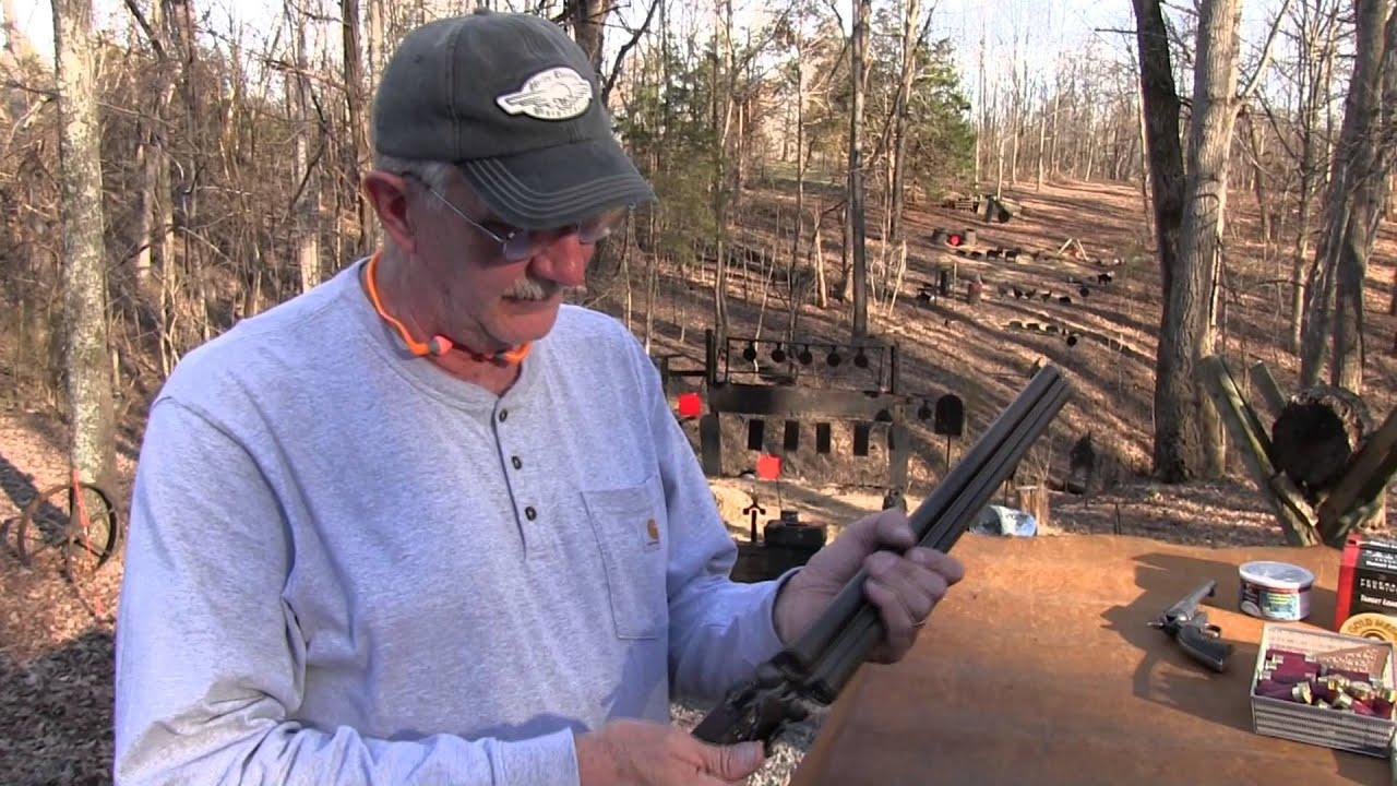 Ithaca Classic Double Barrel 12 Gauge Coach Gun Youtube