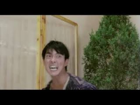 Юэнь Бяо фильм Мои счастливые звезды 2 (1986 год) бой в кафе в финале фильма