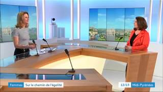 Interview de Nathalie Dousset sur France 3 Occitanie le 8 mars