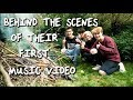 Behind the Scenes of their First Music Video mp3 indir