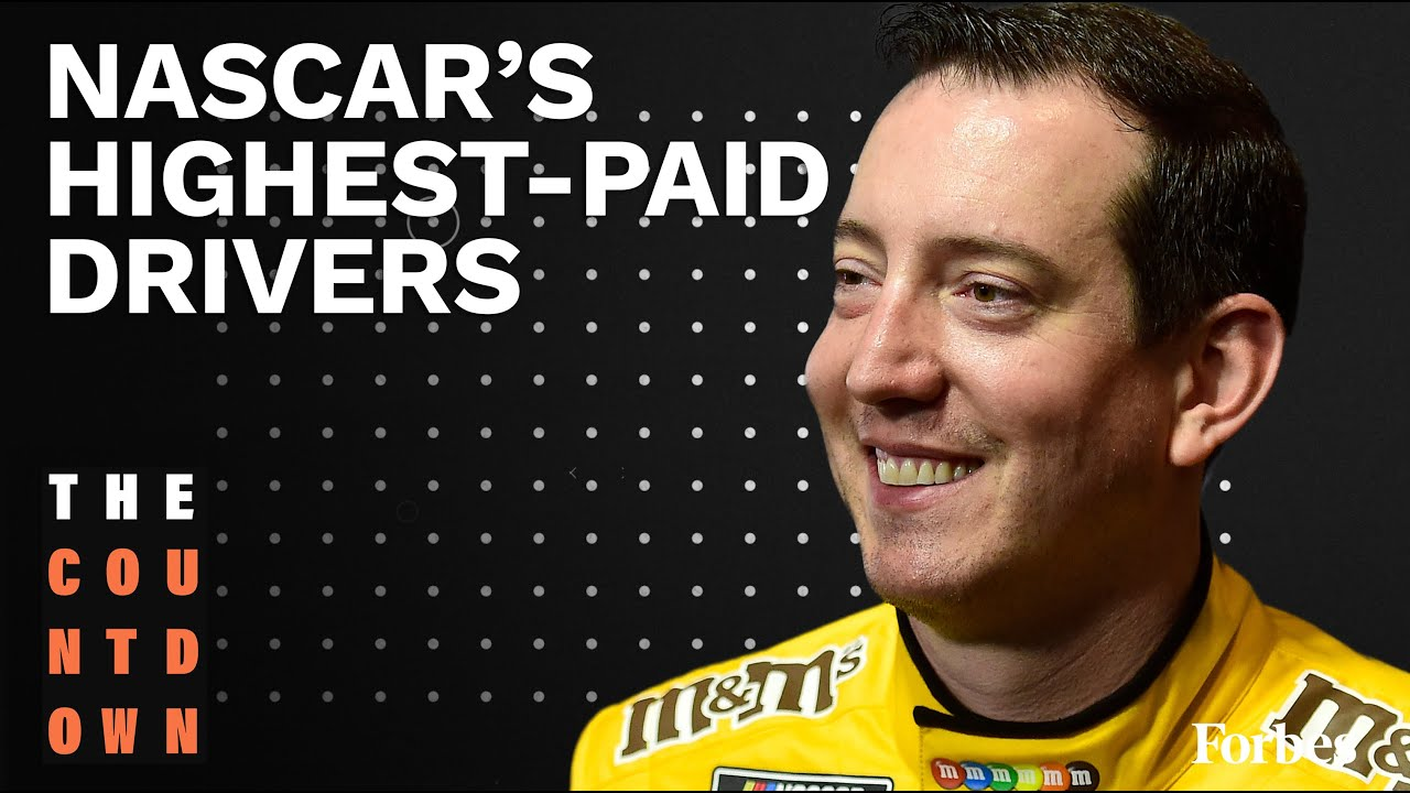 Kyle Busch Leads Nascar's Highest Paid Drivers List  | The Countdown
